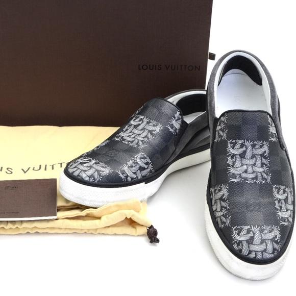 Louis Vuitton Lv Mens Shoes Slip